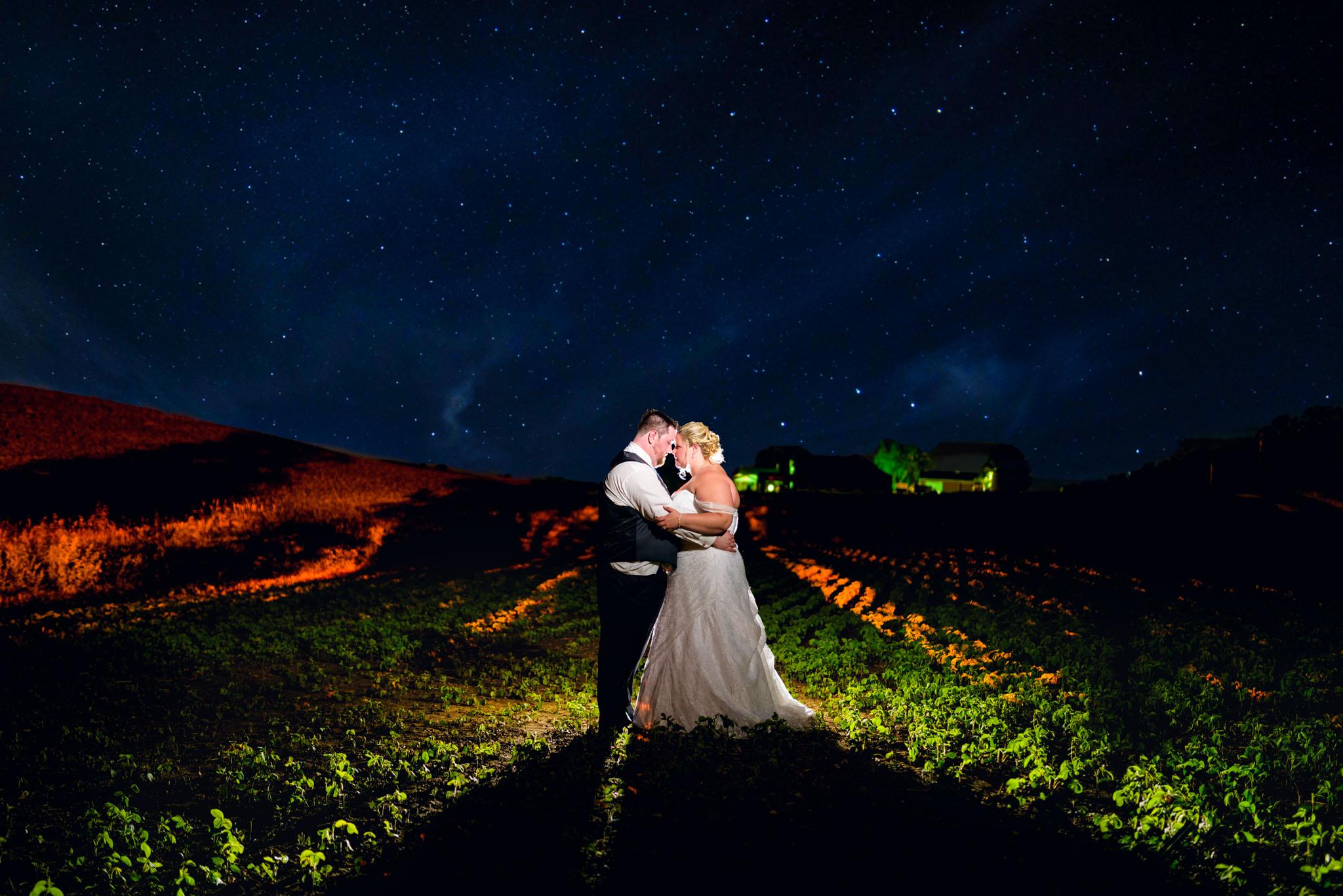 Country Wedding Mississauga Photographer Night Photography Outdoor Ceremony St Jacob S Sunset Three Bridges
