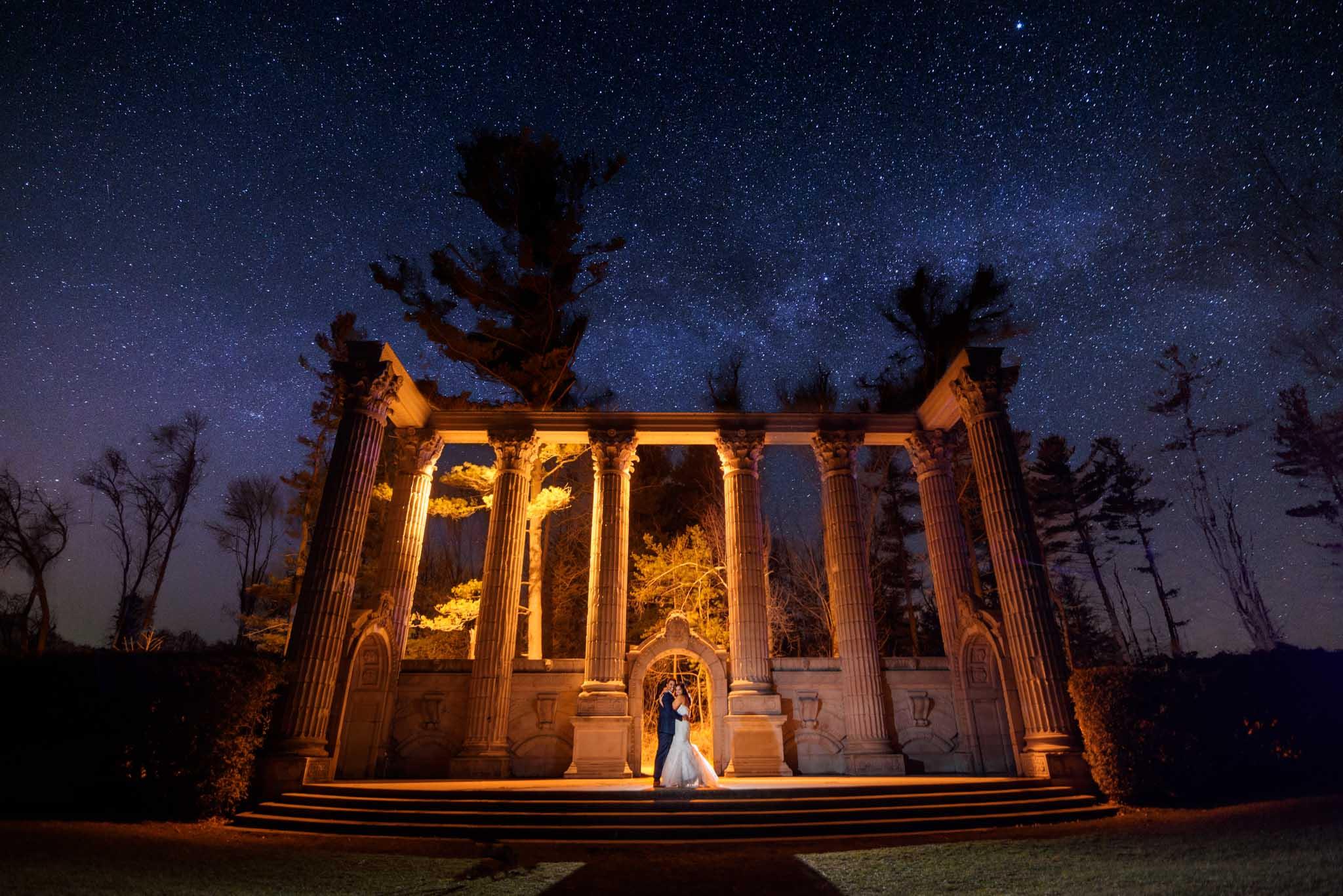 Guild inn estate mississauga wedding photographer night photography scarborough wedding photographer toronto wedding photographer wedding photographer